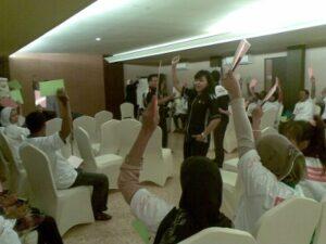 Suasana saat pelatihan kelola keuangan TKI di Cilacap