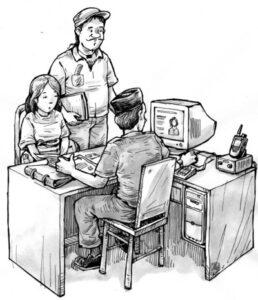Ilustrasi Perekrutan TKI