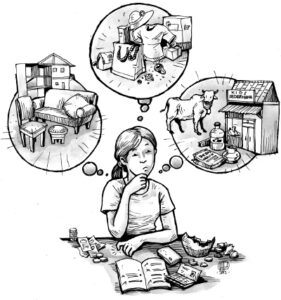 Ilustrasi ekonomi TKI