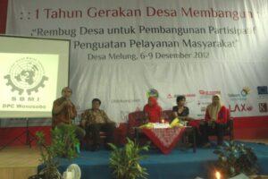 Diskusi Rembug Saran Desa untuk RUU PPILN di Desa Melung Banyumas (08/12/12)