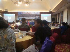 Suasana Diskusi Peluncuran Buku Migrant Care yang Berjudul Selusur Kebijakan (Minus) Perlindungan BMI