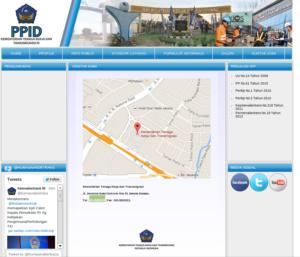 Website PPID Kemenakertrans