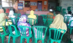 Rapat Kerja Sama Pemdes dan Paralegal di Desa Ngeru