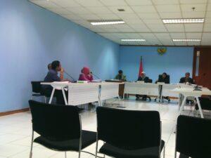 Suasa Sidang Sengketa Informasi di Komisi Informasi Pusat yang Tidak Dihadiri Termohon Kemenakertrans