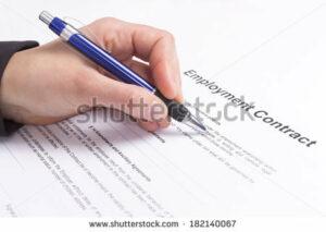 Ilustrasi Kontrak Kerja