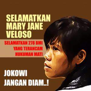 save mary jane (desain oleh Ode, LBH Jakarta)