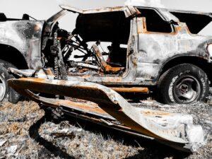 Ilustrasi Mobil Bekas Kecelakaan. Sumber Foto : Pixabay