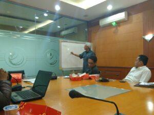 Diskusi Jaringan Buruh Migran (JBM) dengan Agusdin Subiantoro