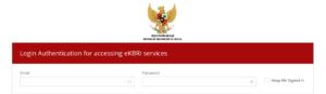 Tampilan Depan Website KBRI untuk Mengakses Formulir Perpanjangan Paspor