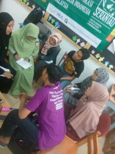 Suasana Belajar Komunitas Serantau tentang Advokasi dan Pendokumentasian Kasus