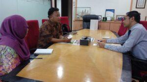 Diskusi bersama Judha Nugraha dari fungsi kekonsuleran KBRI Kuala Lumpur