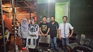 Kunjungan ke rumah kongsi buruh migran di Klang, Selangor Darul Ehsan