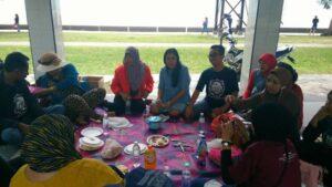 Diskusi Komunitas Serantau Bersama Nurul Qoiriah dari IoM