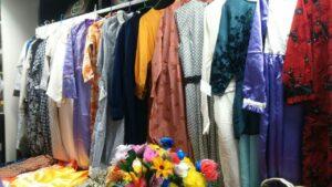 Pakaian yang Diproduksi oleh Kawan-kawan Buruh Migran Kelas Kholaqoh Ahad