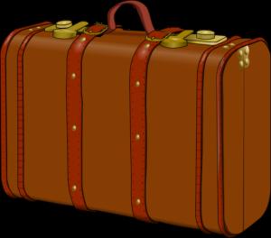 Ilustrasi koper/ barang bawaan