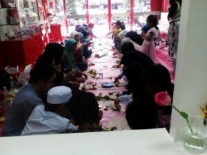 Buka Bersama Komunitas Serantau dan Gusdurian Bersama Pekerja Migran di Shelter KBRI Kuala Lumpur (17/06/2017)
