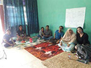 Pertemuan dengan salah satu komunitas di Johor Bahru