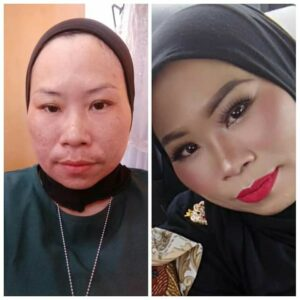 Hasil Make up Ayu dari Kelas Make up