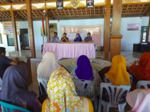 Pembukaan Pelatihan Perencanaan Apresiatif Desa (PAD) di Desa Nongkodono, Sabtu dan Minggu (11-12/5/2019)