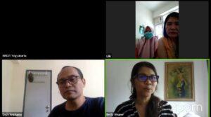 Betty Wagner, Deputi Manager Help for Domestic Workers, Menjelaskan tentang Peraturan bagi Pekerja Migran yang Sakit di Hong Kong, Minggu, 17 Mei 2020.